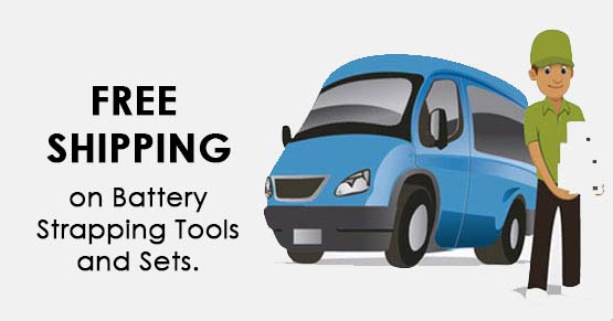 Free shipping for all battery starpping tools
