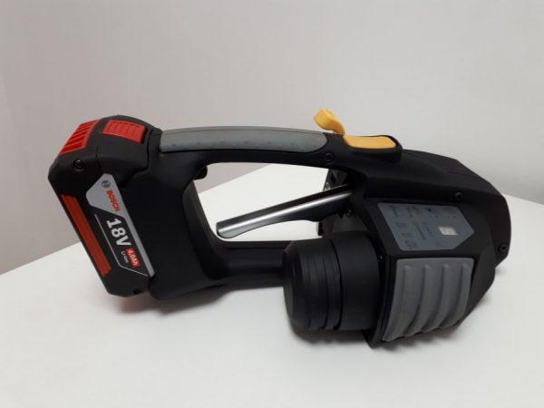 Flejadora para fleje de plástico Messersi MB620 12-16mm para fleje de PET y PP con batería y cargador 3