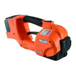 Flejadora manual eléctrica GT ONE 10-16mm para fleje de PET y PP con batería y cargador
