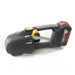 Precio flejadora de batería MB820 para fleje de PET y PP 16-19mm con batería y cargador