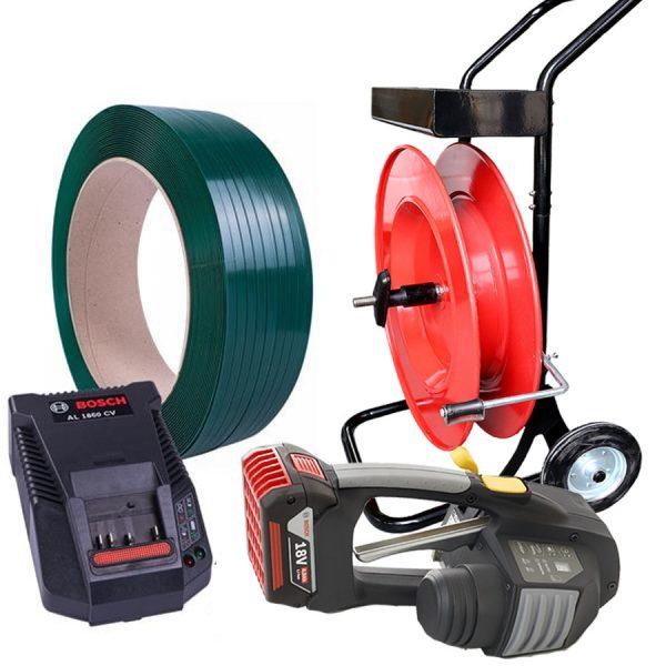 batterystrapping.com-precio-juego-de-flejadora-de-bateria-MB620-carro-porta-fleje-PP-PET-12-16mm