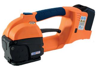 Flejadora manual eléctrica GT ONE 10-16mm para fleje de PET y PP con batería y cargador 2