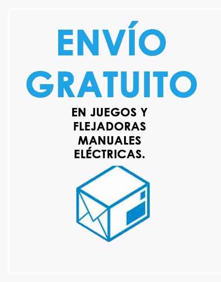 Envío rápido y gratuito a España en todas las flejadoras de batería y juegos.